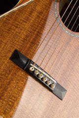 Bourgeois Piccolo Parlor guitar ebony bridge
