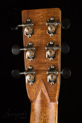 Bourgeois Piccolo Parlor guitar headstock back