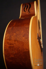Hewett GC cutaway Guitar side detail