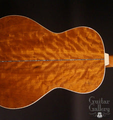 Froggy Bottom R12 guitar sinker mahogany back detail