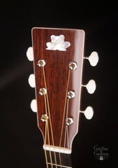 Froggy Bottom R12 guitar  headstock