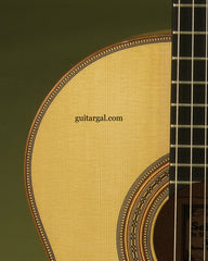 "Radicic Classical Guitar: Birdseye Maple  with 1 7/8"" nut"