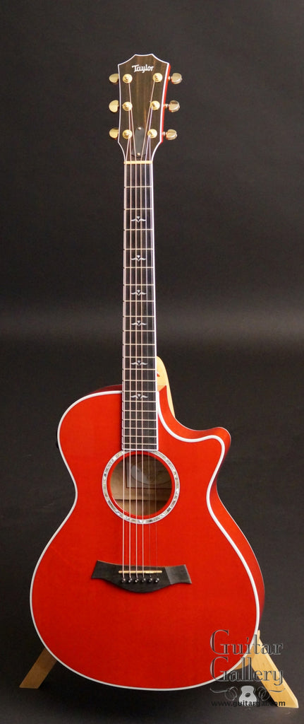 2001 Taylor 612ce Guitar Red Guitar Gallery