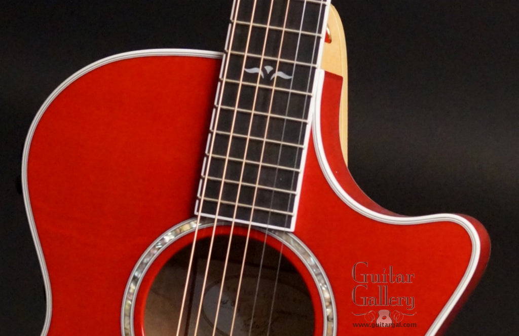 2001 Taylor 612ce Guitar (RED)