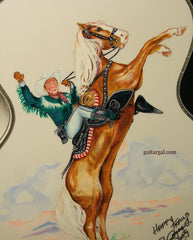 Roy Rogers Guitar with Trigger