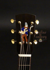 Running Dog guitar headstock