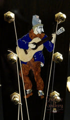 Running Dog guitar inlay