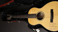 Ryan Abbey Parlor Guitar in case