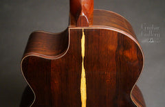 Ryan Nightingale Brazilian rosewood guitar heel