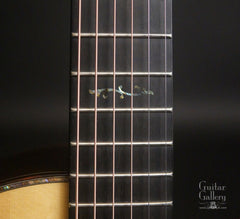 Ryan Nightingale guitar 12th fret inlay