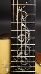 Ryan guitar fretboard inlay