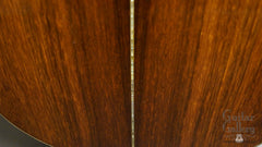 Ryan MGC Brazilian rosewood guitar back detail