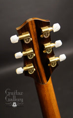 Ryan MGC Brazilian rosewood guitar headstock back