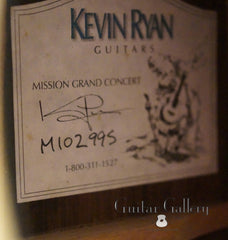 Ryan guitar label
