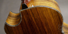 Ryan Cathedral Grand Fingerstyle guitar heel