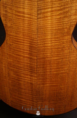 Lowden S35M fiddleback mahogany guitar back