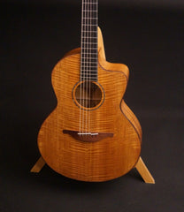 Lowden S35Mcx guitar all fiddleback mahogany