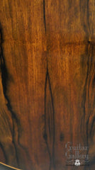 Malaysian blackwood McPherson guitar back