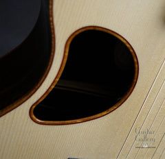 McPherson guitar bound soundhole