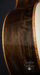 Malaysian blackwood McPherson guitar side