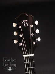 Santa Cruz SSJ guitar headstock