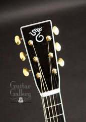 Santa Cruz guitar headstock