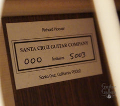 Santa Cruz guitar label