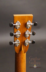 Santa Cruz OM guitar headstock back