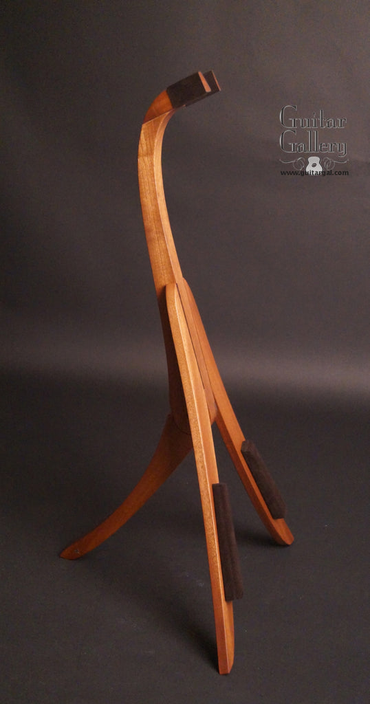 Solid Ground Sapele Standard Guitar Stand side view