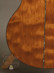Laurie Williams whitebait ancient kauri guitar