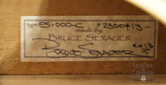 Schoenberg 000c guitar label