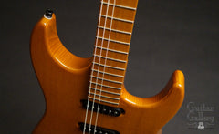 Marchione solid body electric guitar cutaways