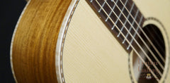 Square Deal 00-12 fret guitar detail
