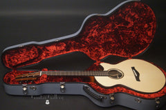 Strahm Eros guitar in Main Stage case