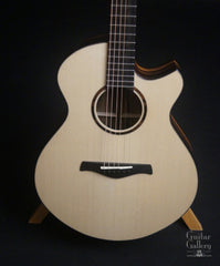 Strahm Eros guitar Moon spruce top
