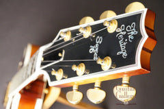Heritage Sweet 16 archtop headstock