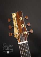 Vines SX cutaway guitar headstock