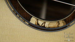 Tony Vines SX guitar rosette detail