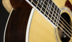 Taylor 814-BCE 25th anniversary guitar detail