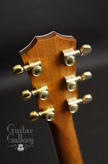 Taylor 814-BCE 25th anniversary guitar headstock back