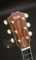 Taylor 814-BCE 25th anniversary guitar bound headstock