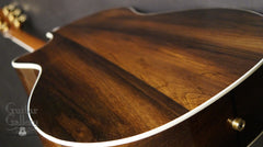 Taylor 814-BCE 25th anniversary guitar Brazilian rosewood back