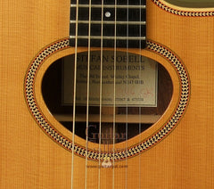 Sobell thinline guitar