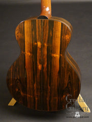 Traugott model R guitar Brazilian rosewood back