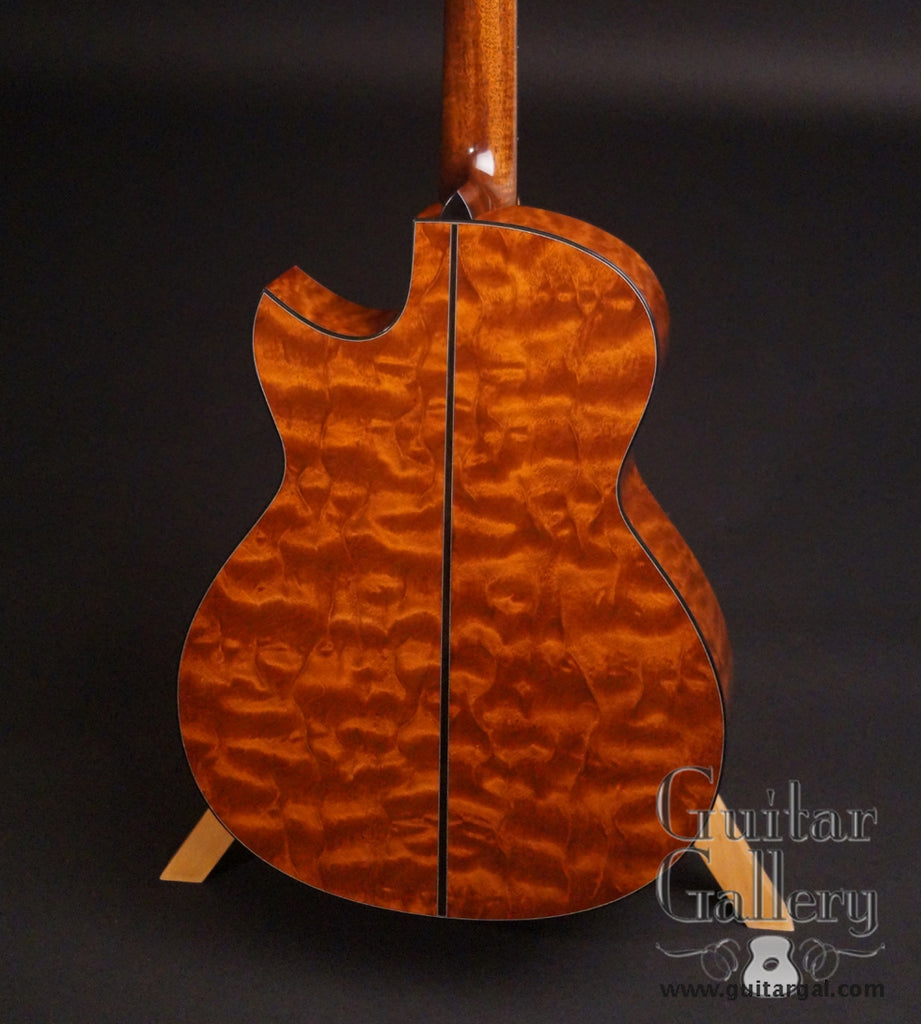 Rasmussen model C TREE guitar back