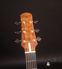 Rasmussen model C TREE guitar headstock