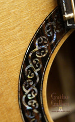 Laurie Williams guitar celtic rosette