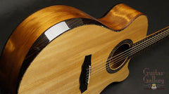Laurie Williams guitar top bevel
