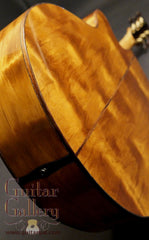 Laurie Williams ancient kauri guitar back
