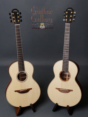 pair of Lowden Twin guitars